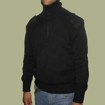 Tricota Pull Over Militar Con Parches - E.a - Policia-gna -