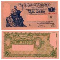 5 Billetes 1 Peso Progreso Serie K,l,m,n,ñ Sin Circular