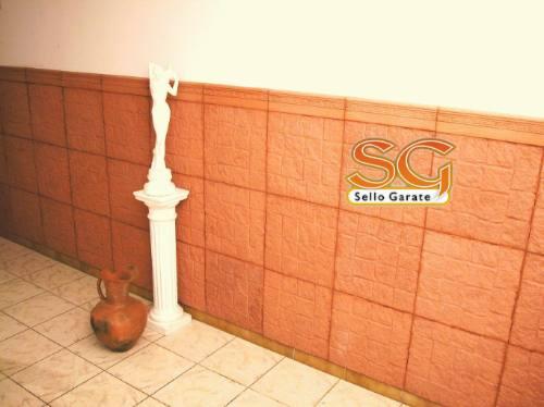 Piso baldosa loseta guardas zocalos para vereda patio for Paredes revestidas con ceramicas