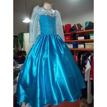 Disfraz Vestido Elsa De Frozen
