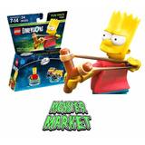 Lego Dimensions Bart Simpson Solo En Monster Market 71211