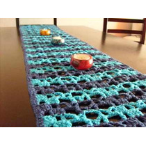 Caminos De Mesa Tejidos A Crochet