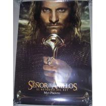 Poster Cine El Señor De Los Anillos El Retorno Del Rey