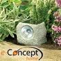 Piedra Luminosa A Energia Solar - Adorno Jardin - Paisajismo