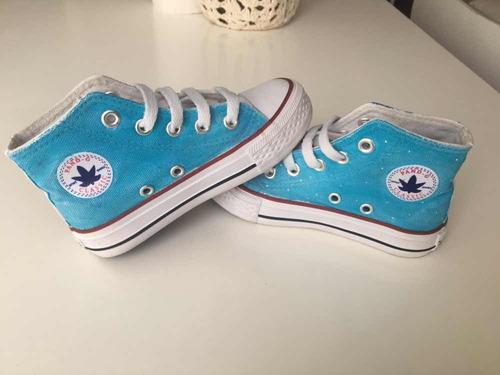 Zapatillas Tipo Converse Frozen Elsa Nena en venta en Barrio