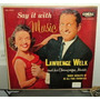 Lawrence Welk Say It With Music Acordeon Vinilo Argentino