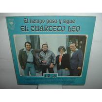 El Cuarteto Leo El Tiempo Pasa Y Sigue Vinilo Argentino