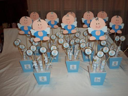 Decoracion para bautismo 1 a ito baby shower carteles for Decoracion de bautismos