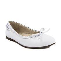 Zapatos Chatitas De Nena Negras Cuero Marcel - 27 Al 33