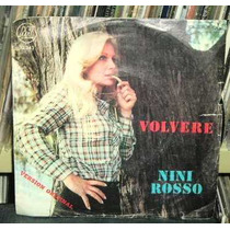 Nini Rosso Volvere / Guarda Rail Vinilo Simple C/ Tapa Arg
