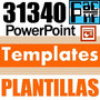 31.340 Powerpoint Templates Plantillas Diseños Power Point