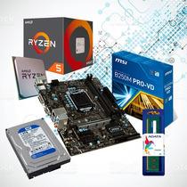Actualización Ryzen 5 Am4 + Disco 1tb + Mem Ddr4 8gb