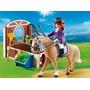 Playmobil Country Caballo De Exhibición C/ Establo 5520 Giro