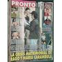 Revista Pronto 430 Silvina Luna Onetto Ghione Serrat Tevez