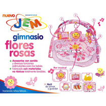 Gimnasio Para Bebes Manta Didáctica Musical Peluche