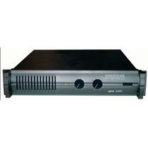 Potencia American Pro Apx-800 Serie Ii - 400watts X Lado