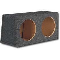 Caja Acustica Doble Mdf 18mm Litrada P/ Woofer Pioneer W308