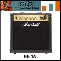 Amplificador P/guitarra Marshall Mg-15 15w