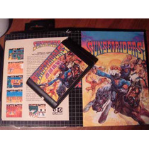 Juego De Sega -sunsetriders-lamina -made In Japan..