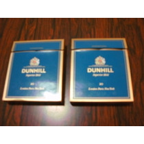 Marquillas Box 20 Dunhill Superior Mild Lote Por 2