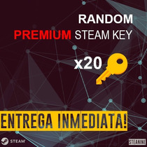 Random Premium Steam Key Global 20 Keys