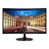 Monitor Samsung C27f390fhl Led 27  Negro 110v/220v
