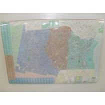 Mapa Partido De Avellaneda Lanus Y Lomas De Zamora Minimural
