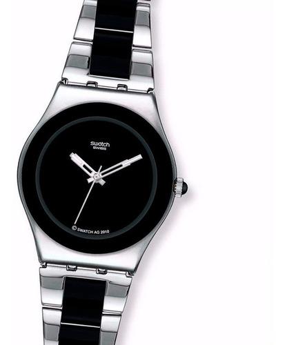 Swatch Precio Argentina 30m Tresor Reloj D Suizo Combinado Fgeux Acero5945 Noir Yls168gc N8PknZX0Ow
