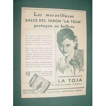 Publicidad Antigua Jabones La Toja Sales Protege Belleza