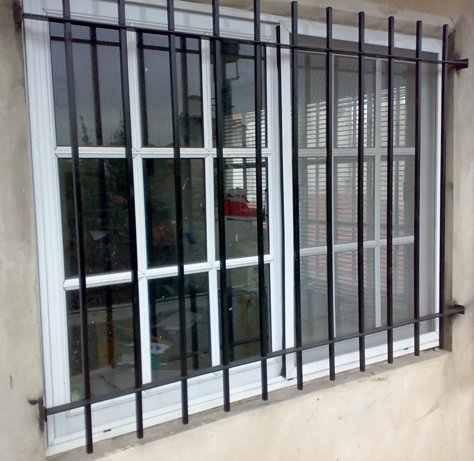 Reja de ventana super reforzada herreria siran zona for Ventanales de aluminio zona sur