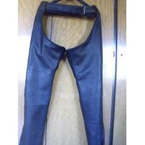 Chaps Pantalon Chaparrera Moto Cuerosol Fabrica Cuero