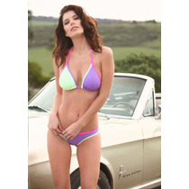 Bikini Triangulo Soft Desmontable Y Culotte Less Tout