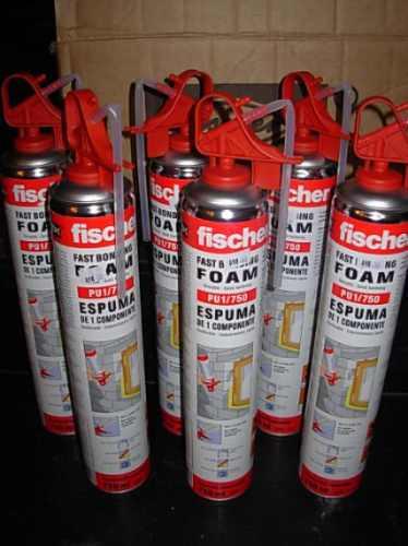 Espuma poliuretano r gido aerosol fischer x 750 ml foam - Poliuretano en spray ...