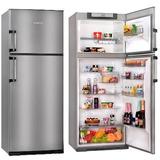 Heladera Con Freezer 413 Litros Kohinoor Kda4394 Acero Nueva