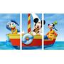 Cuadros Trípticos Mickey Mouse, Donald Y Goofy