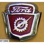 Ford-escudo De Capot F-100 Mod 56-57