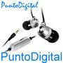 Auricular De Aluminio H-fi I-luv P/ Iphone - Ipod C/vol Caja