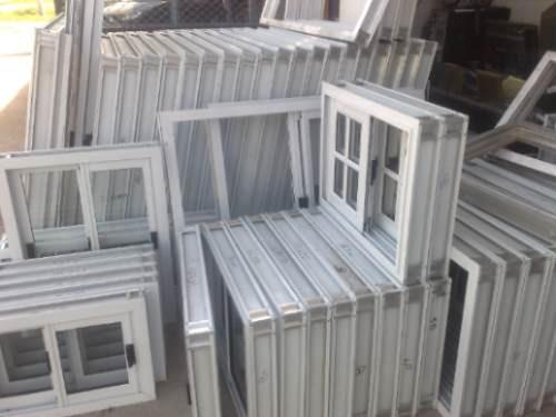Puerta ventana balcon vidrio entero 150x200 aluminio for Puerta balcon pvc