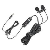 Micrófono Boya By-m1dm Condensador Omnidireccional Negro
