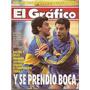 El Gráfico 3860 A- Da Silva - Beto Acosta - Boca Gaidano