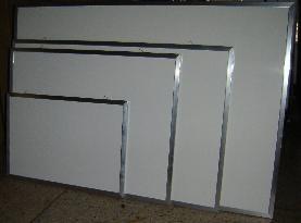 Pizarra blanca magnetica m aluminio 90x60 450 f8xqk for Cotizacion aluminio argentina