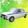 Calcomania Decoracion Fiat 128 Iava 1974