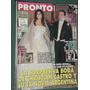 Revista Pronto 418 Boda Cristian Castro Y Valeria Liberman