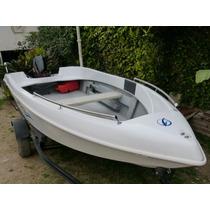Lancha Pescadora Atuel 460 Con Mercury 15 Hp Todo 0 Km