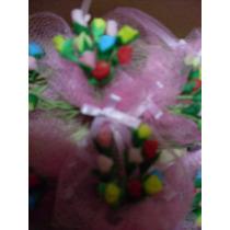 Flores Porcelana Fria Con Iman Casamiento Aniversario 15años