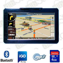 Gps Dbs 5880 Bluetooth Mp3 Mp4 4gb + Funda Envio Gratis