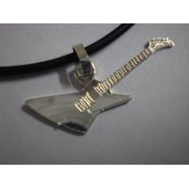 Guitarra Explorer - Dije Plata 925