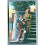 Hermosa Antigua Tarjeta Postal Pareja Jovenes Origen Italia