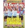 El Gráfico 3872 C-sorteo Usa 94/ Argentina 2 Alemania 1