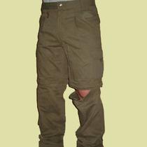 Pantalon Desmontable Tipo Cargo Secado Rapido Microfibra